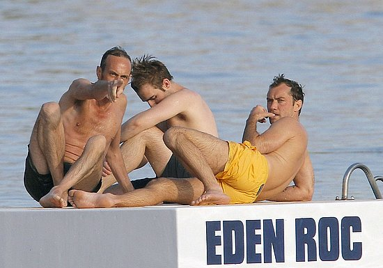 jude law shirtless. Jude Law Shirtless Pictures After the Cannes Film Festival Previous Next