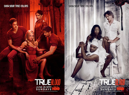 season 4 true blood poster. True Blood Posters For Season