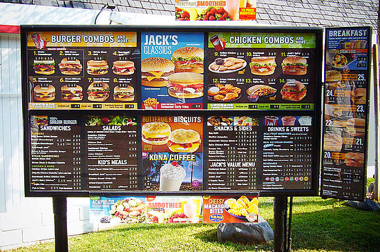 jack in te box menu