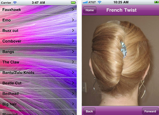 the new haircut styles app for iphone is extremely simple but it s a ...